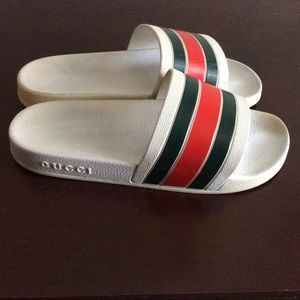 GUCCI mens Flip Flop AUTHENTIC size 42